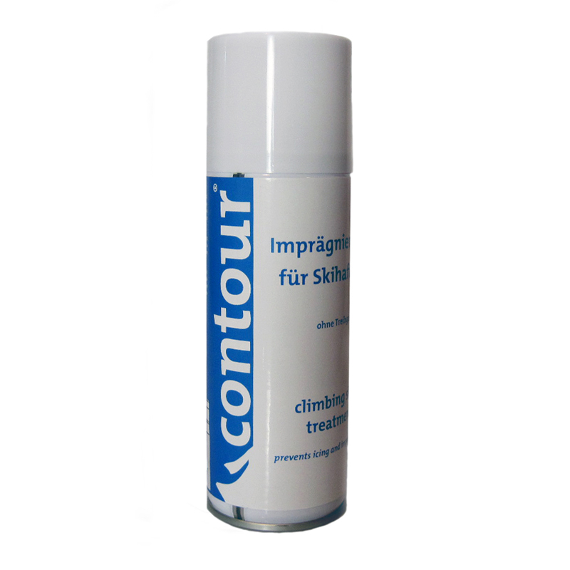 Contour glue spray