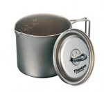 EverNew титановая кастрюля Ultralight Titanium Mug Pot ECA-266